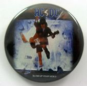 AC/DC - 'Blow up Your Video' Large Button Badge